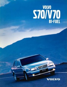 1999 VOLVO S70 / V70 BI-FUEL BROCHURE GERMAN