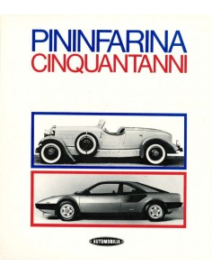 PININFARINA - CINQUANTANMI - SERGIO PININFARINA & RENZO CARLI - BOEK