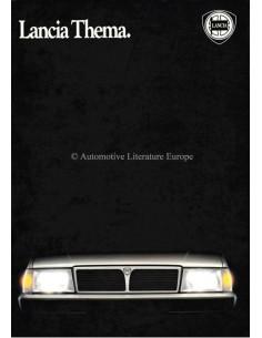 1984 LANCIA THEMA PRESSE PROSPEKT ITALIENISCH