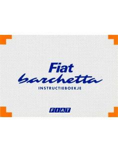 1995 FIAT BARCHETTA BETRIEBSANLEITUNG NIEDERLÄNDISCH