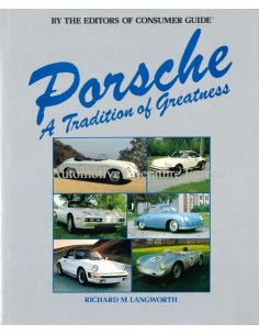 PORSCHE - A TRADITION OF GREATNESS - BUCH