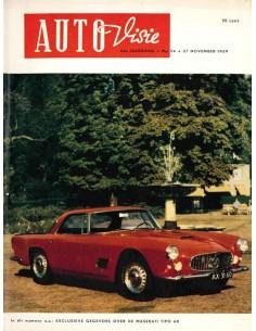 1959 AUTOVISIE MAGAZIN 24 NIEDERLÄNDISCH
