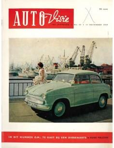 1959 AUTOVISIE MAGAZIN 25 NIEDERLÄNDISCH