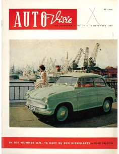 1959 AUTOVISIE MAGAZINE 25 NEDERLANDS