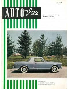 1960 AUTOVISIE MAGAZIN 3 NIEDERLÄNDISCH