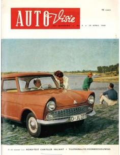1960 AUTOVISIE MAGAZIN 9 NIEDERLÄNDISCH