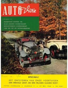 1960 AUTOVISIE MAGAZIN 11 NIEDERLÄNDISCH