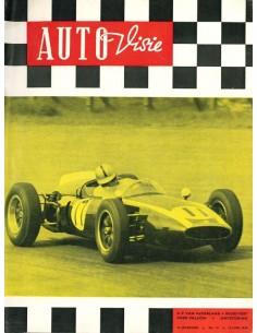 1960 AUTOVISIE MAGAZINE 12 NEDERLANDS