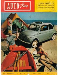 1960 AUTOVISIE MAGAZIN 15 NIEDERLÄNDISCH