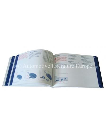 2007 MASERATI QUATTROPORTE V AUTOMATIC INSTRUCTIEBOEKJE ENGELS