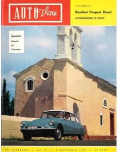 1960 AUTOVISIE MAGAZIN 18 NIEDERLÄNDISCH