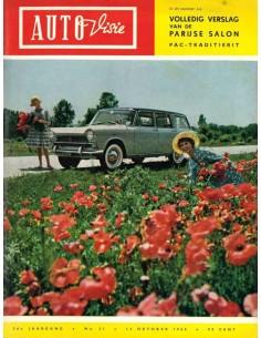 1960 AUTOVISIE MAGAZIN 21 NIEDERLÄNDISCH