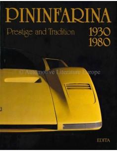 PININFARINA, 1930-1980: PRESTIGE AND TRADITION - DIDIER MERLIN - BUCH