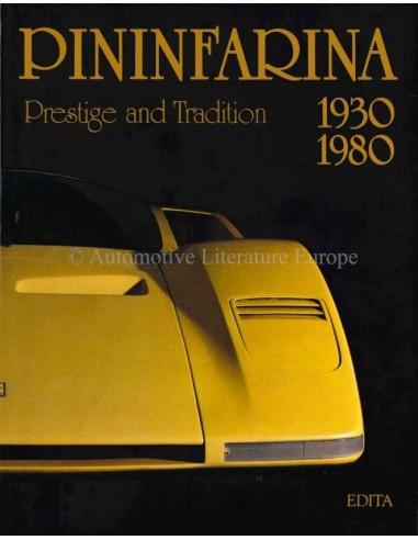 PININFARINA, 1930-1980: PRESTIGE AND TRADITION - DIDIER MERLIN - BOOK