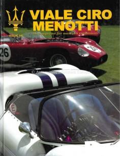 2004 MASERATI VIALE CIRO MENOTTI HARDBACK MAGAZINE ENGLISH