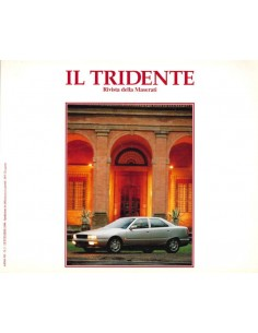 1994 RIVISTA DEL CLUB MASERATI IL TRIDENTE MAGAZINE NO 14
