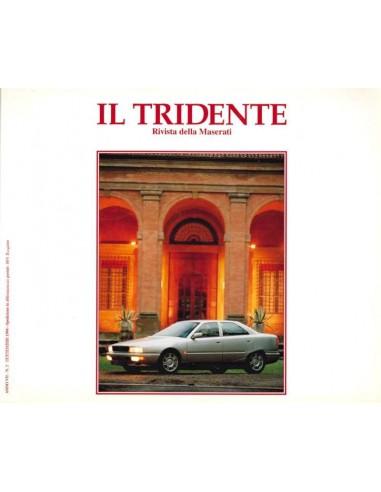 1994 RIVISTA DEL CLUB MASERATI IL TRIDENTE MAGAZIN NO 14
