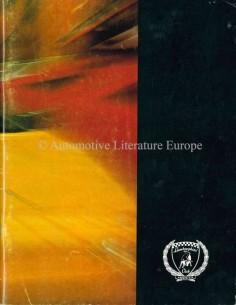 1991 LAMBORGHINI CLUB AMERICA MAGAZINE 40 ENGLISCH