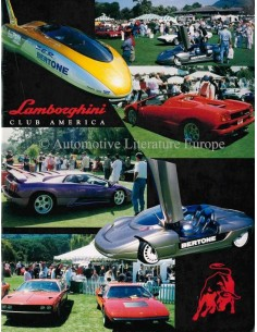 1997 LAMBORGHINI CLUB AMERICA MAGAZINE 49 ENGLISCH