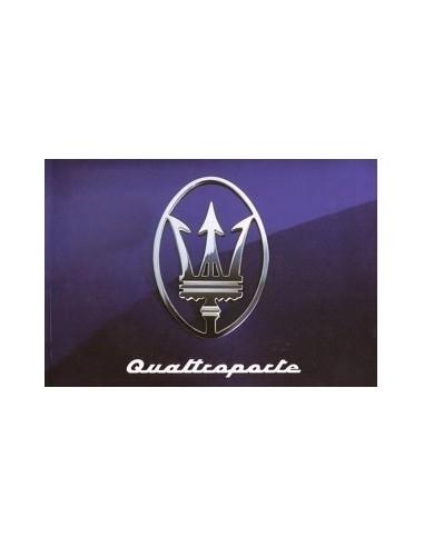 1994 MASERATI QUATTROPORTE INSTRUCTIEBOEKJE ENGELS SPAANS