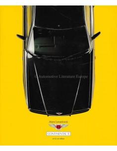 BENTLEY CONTINENTAL R - ART & CAR EDITION - JURGEN LEWANDOWSKI - BOEK