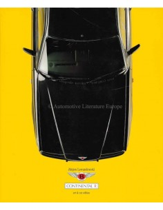 BENTLEY CONTINENTAL R - ART & CAR EDITION - JURGEN LEWANDOWSKI - BOOK