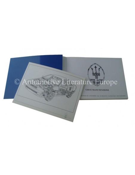 1994 MASERATI QUATTROPORTE IV INSTRUCTIEBOEKJE ITALIAANS