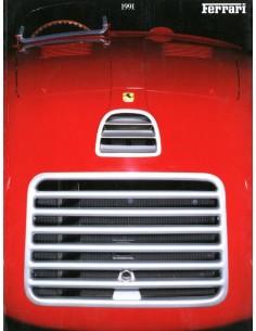 1991 FERRARI JAARBOEK ENGELS 696/91