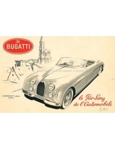 1952 BUGATTI TYPE 101 BROCHURE FRANS