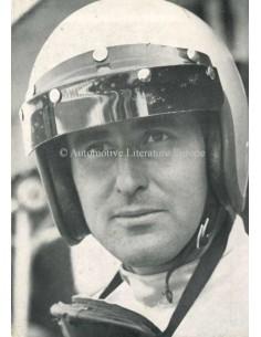 1963 FERRARI LORENZO BANDINI POSTCARD