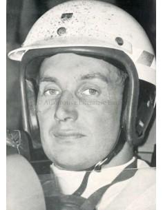 1966 FERRARI MICHAEL PARKES POSTCARD