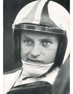 1967 FERRARI CHRIS AMON POSTCARD