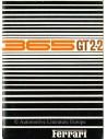 1968 FERRARI 365 GT 2+2 OWNERS MANUAL 24/68