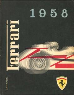 1958 FERRARI JAHRBUCH ITALIENISCH
