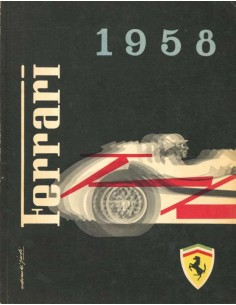 1958 FERRARI YEARBOOK ITALIAN