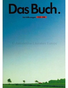 DAS BUCH VON VOLKSWAGEN - 1938-1988 - BUCH