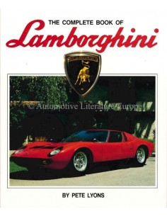 THE COMPLETE BOOK OF LAMBORGHINI - PETE LYONS - BOEK