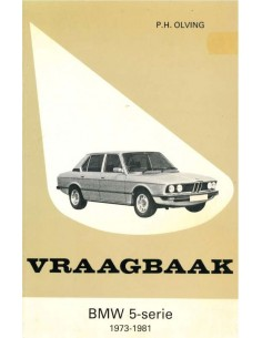 1973 - 1981 BMW 5 SERIES PETROL REPAIR MANUAL DUTCH