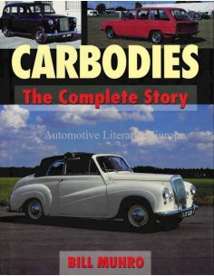 CARBODIES: THE COMPLETE STORY - BILL MUNRO - BOOK