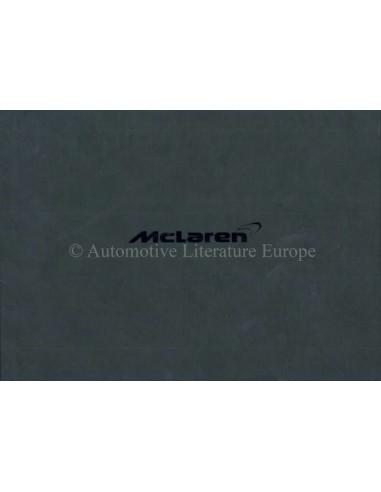 2011 MCLAREN MP4-12C HARDBACK OWNERS MANUAL GERMAN