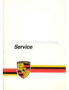 1985 PORSCHE SERVICE BETRIEBSANLEITUNG