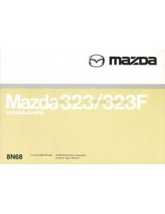 1998  MAZDA 323 / 323F OWNERS MANUAL HANDBOOK DUTCH
