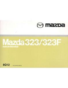 2000 MAZDA 323 / 323F OWNERS MANUAL HANDBOOK DUTCH