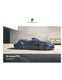 2020 PORSCHE 911 CARRERA S HARDCOVER PROSPEKT NIEDERLÄNDISCH