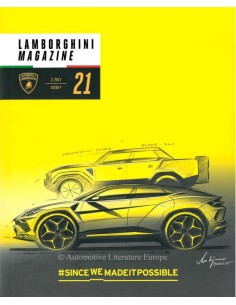 2017 LAMBORGHINI MAGAZIN 21 SINCEWEMADEITPOSSIBLE ENGLISCH