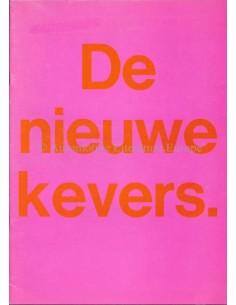 1967 VOLKSWAGEN KEVER BROCHURE NEDERLANDS