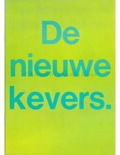 1968 VOLKSWAGEN KEVER BROCHURE NEDERLANDS