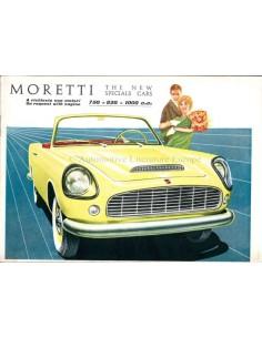 1958 MORETTI PROGRAMM PROSPEKT