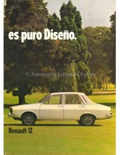 1976 IKA RENAULT 12 BROCHURE SPANISH