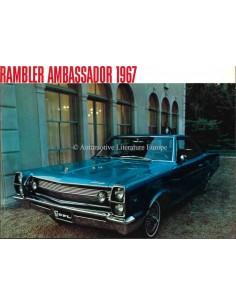 1967 RAMBLER AMBASSADOR PROSPEKT ENGLISCH